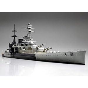 1/700 ウォーターラインシリーズ イギリス海軍 巡洋戦艦 レパルス