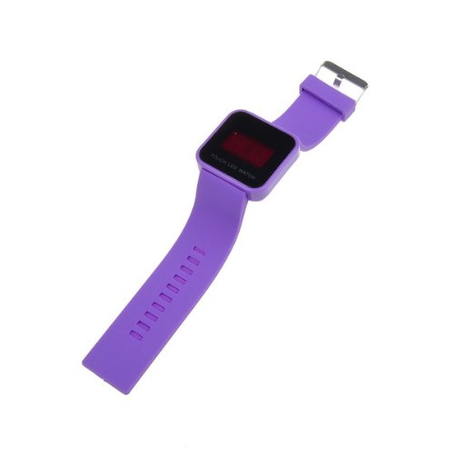 Bestdealusa Cool Touch Screen Digital Led Wrist Watch Silicone Band Watch