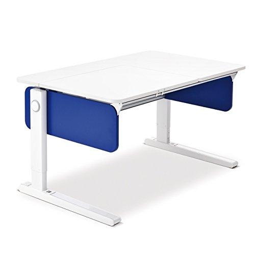 Moll Champion Style Front Up Schreibtisch | blau | 120 x 72 x 53-82 cm (Breite x Tiefe x Höhe) | höhenverstellbar günstig online kaufen