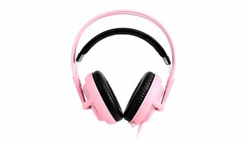 Steelseries Siberia V2 Full-Size Gaming Headset (Pink)