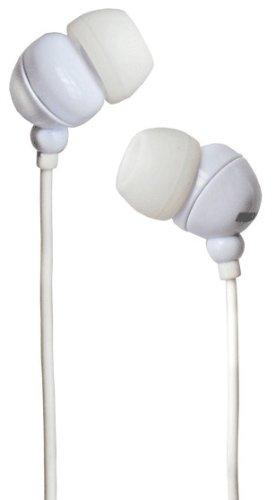 Maxell Plugz In-Ear-Kopfhörer (95 dB, 3,5 mm Klinkenstecker) weiß