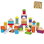 50 Wooden Blocks by The Original Toy Company