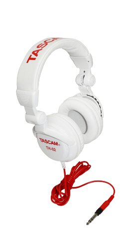 Big Save! TASCAM TH02-W Closed-Back Stylish Headphone, White