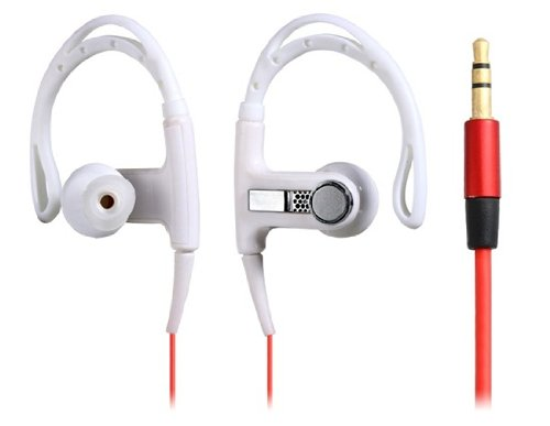 Leobeer Clip-On Headphone For Iphone 5, Ipod Touch 5, Ipod Nano 7, Iphone 4/4S, Ipad 4 (White)