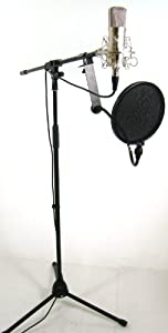 Bad Axx 904-HSMCAMK CM40 Condenser Microphone Studio Package