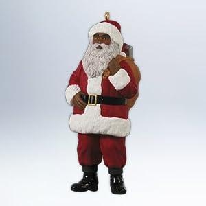 Jolly Santa (African American) 2012 Hallmark Ornament