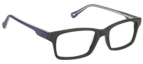 Vincent Chase VC 4014 Matte Black Blue C4 Eyeglasses(102931)