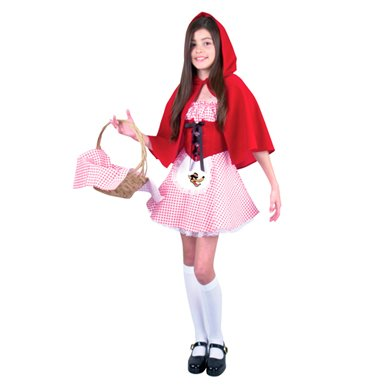 Red Gingham Dress - Red Riding Hood Halloween Costumes