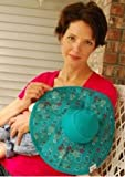 Breast Feeding Baby Hat 6 12 months Tiny Bubbles GREEN