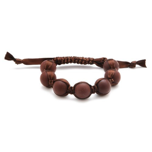 Chewbeads Cornelia Bracelet - Chocolate Brown - 1