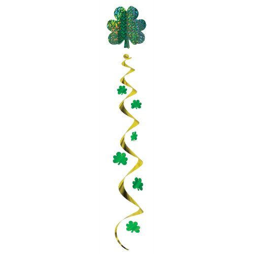 Jumbo Shamrock Whirl Party Accessory (1 count) (1/Pkg)