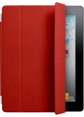 Apple iPad Smart Cover - (PRODUCT) RED - Protective cover for web tablet - leather - red - Apple iPad 2