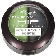 LOreal Paris HiP high intensity pigments Matte Eye Shadow Duos, Perky, 0.08 Ounces