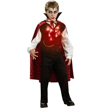 Fiber Optic Vampire Kids Costume