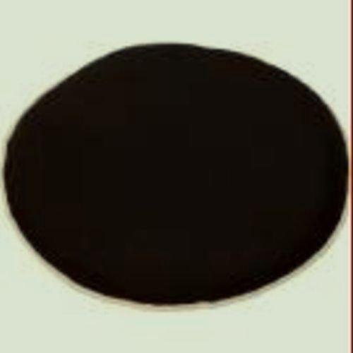 "Zippy Waterproof Garden Furniture Cushions - Round 15"" - Black - TWIN PACK"