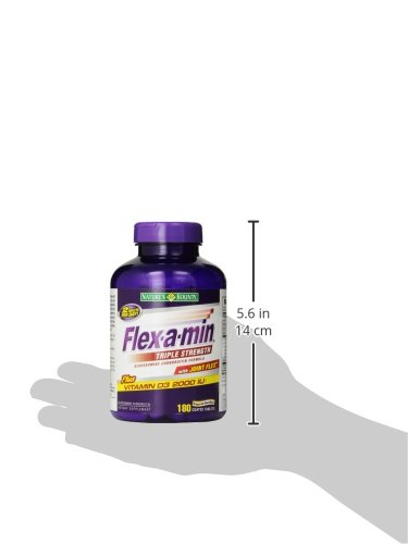 Nature's Bounty自然之宝 Flex-a-Min Triple Strength 三倍维骨力180粒图片
