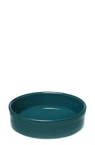 Emile Henry EH977111 Plat à Four Crème Brulée Bleu Pavot 12 x 12 x 3 cm