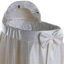 Bassinet Liner Skirt And Hood front-206651
