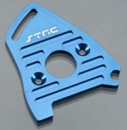 St Racing Concepts ST7490B Heatsink Motor Plate Blue Slash 4x4 LCG/Rally