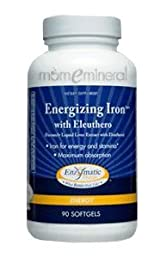 Energizing Iron* with Eleuthero 90 gels by Enzymatic Therapy
