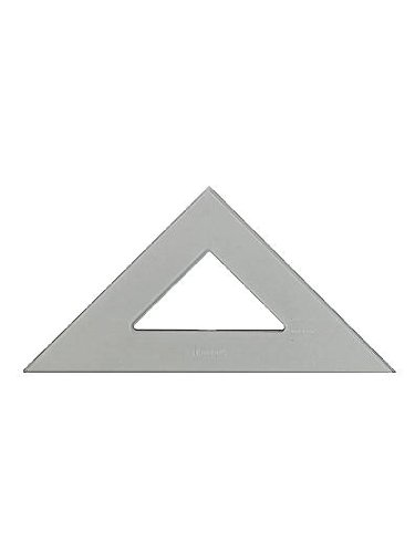 C-Thru Transparent Triangles Professional-45/90 Degree 6 In. [Pack Of 6 ]