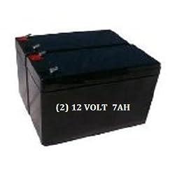 Hi Capacity UPS Replacement Battery for APC BX900R (2) Batteries
