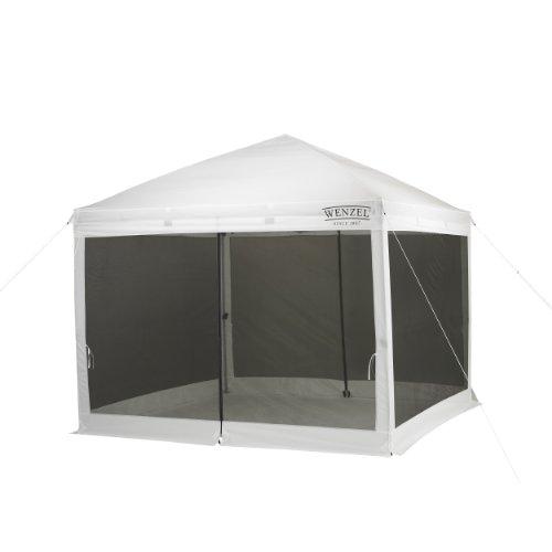 Wenzel Smartshade Screenhouse (White, 10 x 10-Feet)