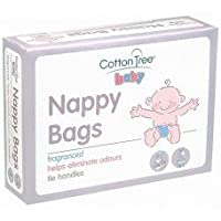 400 Disposable Fragrance Nappy Bags 2 Packs of 200