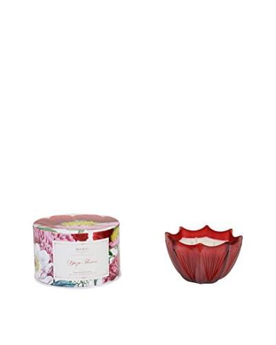 D.L. & Co. Yuzu Flower 10-Oz. Etched Scallop Candle