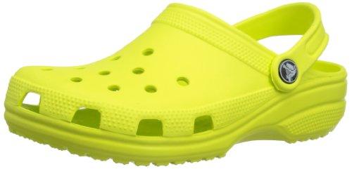 Crocs Unisex Classic Clog, Citrus, Women