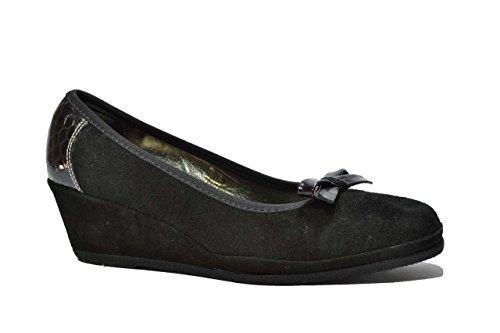 Cinzia Soft Decolte' scarpe donna nero P410 40