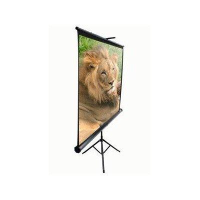 Elite Screens T113UWS1 Tripod Portable Projection Screen (113 inch Diag. 1:1 Viewable 80