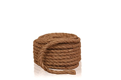 Sisal Rope Maximum Strength • Biodegradable • Recyclable • All Natural Sisal Fiber (1/2
