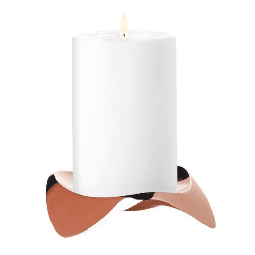 Stelton Papilio Uno x-39-2 Candlestick Copper by Stelton