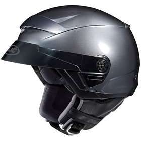 HJC FS-2 ANTHRACITE MOTORCYCLE Open-Face-Helmet