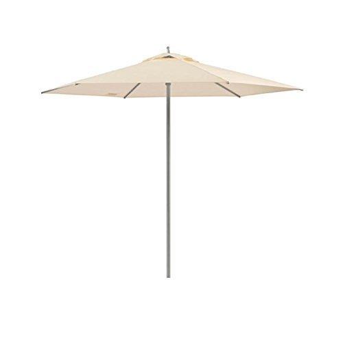 Weishupl-KLICK-Sonnenschirm--270cm-natur-DOLAN-Stamm--38cm