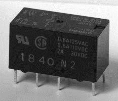 Omron Electronic Components - G5V-2-H1 Dc12 - Signal Relay, Dpdt, 12Vdc, 1A, Thd