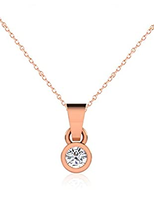Friendly Diamonds Conjunto de cadena y colgante FDP6244R Oro Rosa