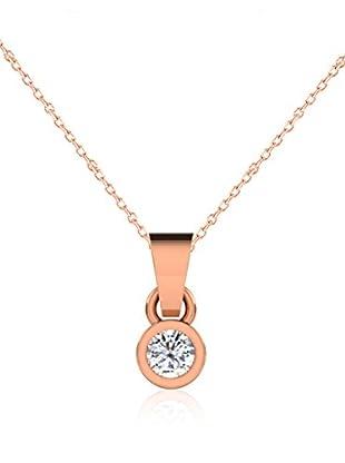 Friendly Diamonds Conjunto de cadena y colgante FDP6244R Oro Rosa