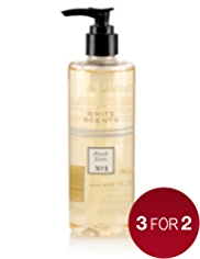 White Scents French Linen Hand Wash 300ml