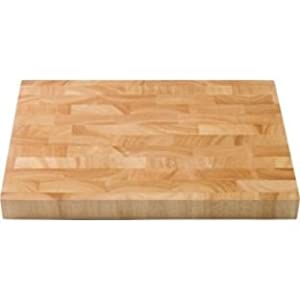 hachoir living large solid wood butchers block chopping