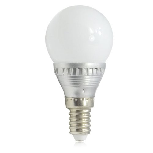 Zono E14 Base Dimmable 3W Rgb Led Light Bulb With Remote Controller Ac 85-265V