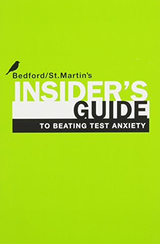 Your College Experience with Insider's Guide to Beating Test Anxiety Access Package: Strategies for Success