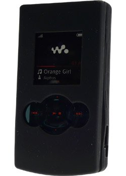 Axess Housse Silicone Noire  W980i SILIW980