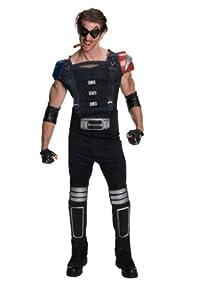 DC Comics Watchmen Muscle Chest Comedian Costume, X-Large