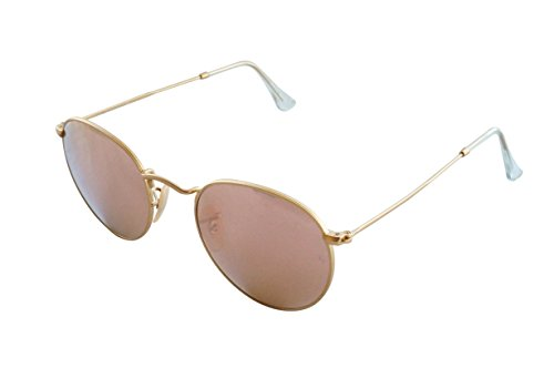 ray-ban-unisex-rund-sonnenbrille-rb3447-gold-gestell-gold-glaser-kupfer-flash-112-z2-gr-medium-herst