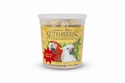Cheap Brand New, LAFEBER COMPANY – MACAW NUTRI BERRIES 12 OZ (BIRD PRODUCTS – BIRD – TREATS) (MSSLF81660-LT 1)