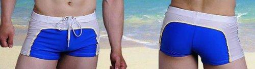 Mens branded swimming shorts