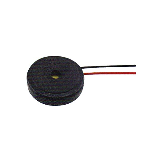 Generic Pack Of 100Pcs Piezo Buzzer Size 16.5X4Mm 30V 4000Hz Black Case