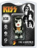 KISS Starchild 8GB USB 2.0 Flash Drive, Multi-colored, One Size - 1